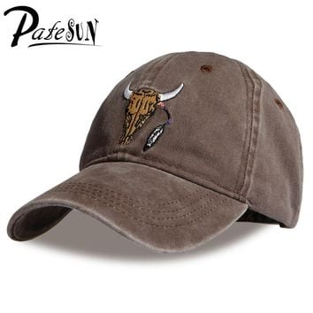 PATESUN  Brand New Baseball Caps Customized Designer 6 Panel Dad Hat Baseball Hat Travis Scotts rodeo Cap snapback caps
