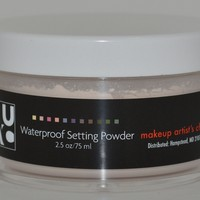 Waterproof Setting Powder From Makeup Artists Choice