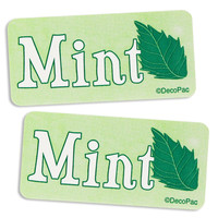 Mint Bakery Labels