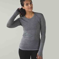 run: swiftly tech long sleeve | women's tops | lululemon athletica