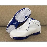 Air Jordan 18 ¡°Sport Royal¡± AJ18 Basketball Shoes Retro Sneakers
