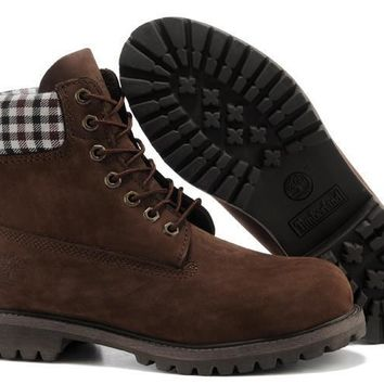 Timberland 6 Inch Premium Waterproof Men Womens brown Boots