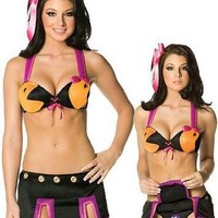 3Wishes Women's Miss Video Game Sexy Video Game Costumes-L