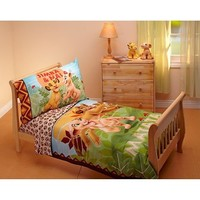 Disney Lion King 4 Piece Toddler Bedding Set