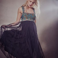 Free People Womens Midnight Kiss Dress