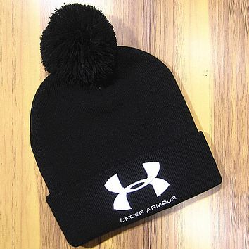 Perfect Under Armour Hip Hop Women Men Beanies Winter Knit Hat Cap
