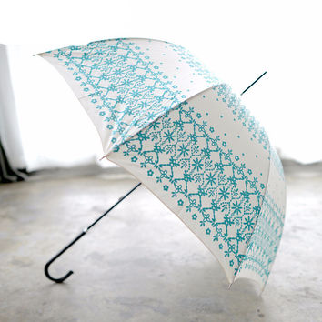 Vintage Classic Print Pattern Umbrella - 2 Colors