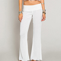 O´Neill Mellie Flared Gauze Pants | Dillards.com