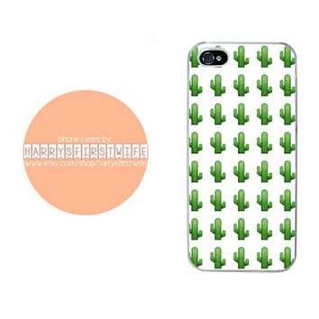 Cactus Emoji iPhone 4/4s 5/5s/5c/6/6 plus iPod 4/5 & Galaxy S5 Case