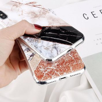Ms. Chic Marble Phone Case