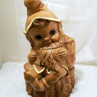 Twin Winton Gnome Cookie Jar