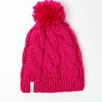 Coal The Rosa Fuschia Beanie - Womens Hat - Fushia - One