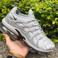 Nike Air VaporMax Plus Silver Running Shoes - Best Deal Online
