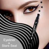 4 Styles Double-Headed Black Liquid Eyeliner Pen