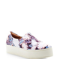 Slip-On Platform Printed Sneakers
