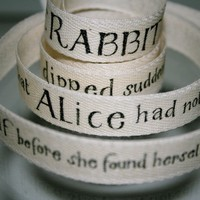Story Book Cotton Tape by lillalotta on Etsy