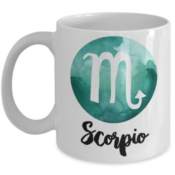 Scorpio Mug - Scorpio Gifts - Zodiac Mug - Horoscope Coffee Mug - Astrology Gift - Metaphysical, Celestial, Astrology, Horoscopes