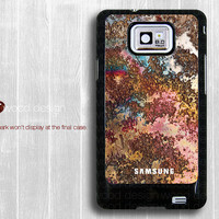 Samsung Galaxy SII case I9100 Case  unique Case  Samsung Galaxy S2 case colorized metal image design