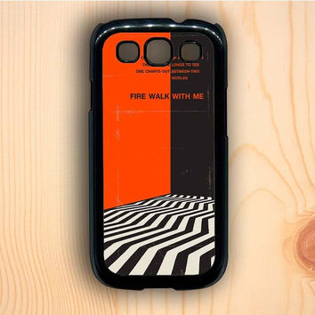 Dream colorful Twin Peaks Fire Walk With Me Samsung Galaxy S3 Case