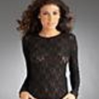 Hanky Panky: Signature Lace Long Sleeve Top