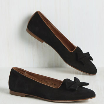 The Grand Toe-tal Flat | Mod Retro Vintage Flats | ModCloth.com