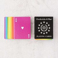 Fredricks & Mae Rainbow Playing Cards | Urban Outfitters
