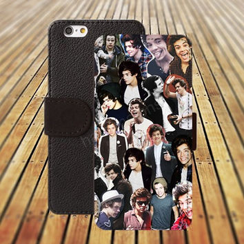 iphone 5 5s case one direction iphone 4/ 4s iPhone 6 6 Plus iphone 5C Wallet Case , iPhone 5 Case, Cover, Cases colorful pattern L111