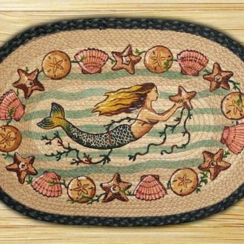 Mermaid Licensed Print Rug