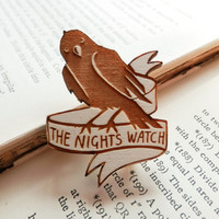 Game of Thrones Brooch - 'The Night's Watch'