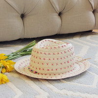 Sweet Stitch Fedora