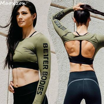 Athletic Workout Crop Top