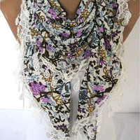 Scarf - Elegant Scarf- Fashion Scarf-gift Ideas For Her Women's Scarves-christmas gift-Fashion accessories