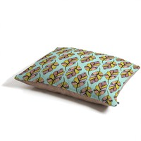 Allyson Johnson Native Feathers Pet Bed