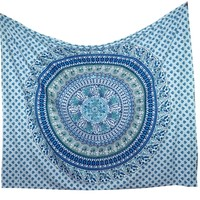HOUSEWARMING GIFT Christmas Present Mandala Tapestry Bed Spread Bedsheets