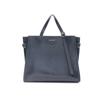 CALVIN KLEIN 205W39NYC East West Side Strap Tote in Blue Grey | FWRD