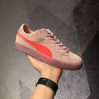 puma x sophia webster women s suede pink