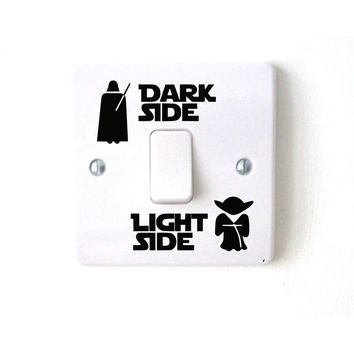 Star Wars Vinyl Light Switch Decal