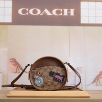 hcxx 1246 Coach Embroidery Printed Dog Bag with Single Shoulder Oblique Stitch