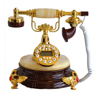 European style luxury gifts telephone antique Retro art classical Rotary Dial