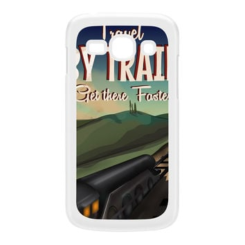 Travel by train White Hard Plastic Case for Galaxy Ace 3 by Nick Greenaway