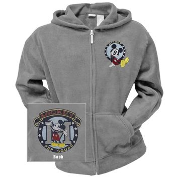 Mickey Mouse - Pep Squad Women's Zip Hoodie