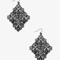 Ditsy Daisy Dangle Earrings | FOREVER 21 - 1031557354
