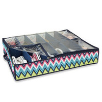 The Macbeth Collection 12-Pair Under the Bed Shoe Organizer - Bed Bath & Beyond
