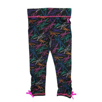 Reebok Logo Capri Leggings - Girls 4-6x, Size: