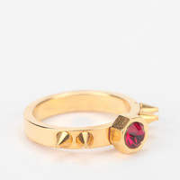 MariaFrancescaPepe Ruby & Gold Ring