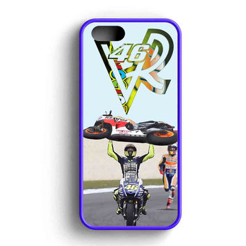 Valentino Rossi Beat Marquez iPhone Case For iPhone SE, 5s, 5c, 4