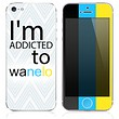 The Im Addicted To Wanelo Skin for the iPhone 3, 4-4s, 5-5s or 5c