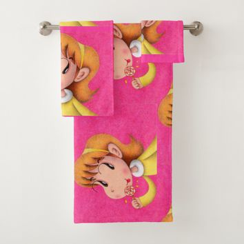 Lollipop Bath Towel Set