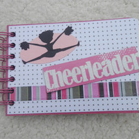 4x6 Cheerleading Scrapbook Photo Album