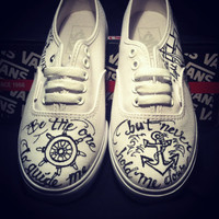 Anchor Themed VANS -Made to Order